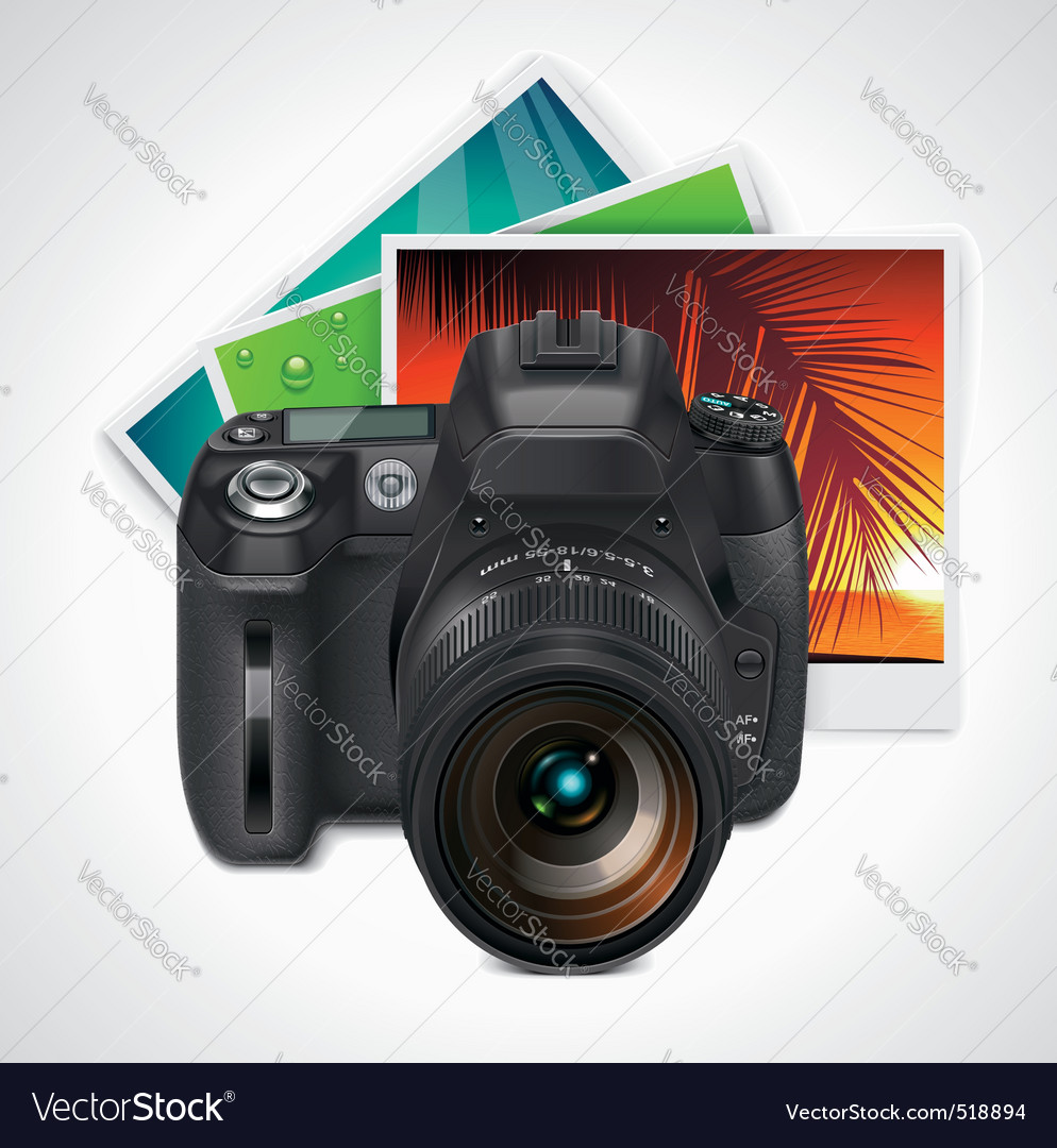 Camera and photos xxl icon vector | Price: 3 Credit (USD $3)