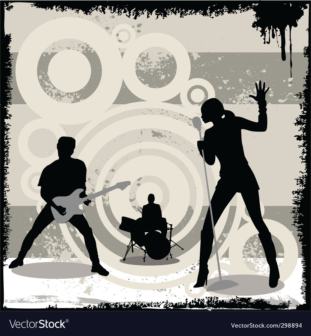 Grunge concert vector | Price: 1 Credit (USD $1)