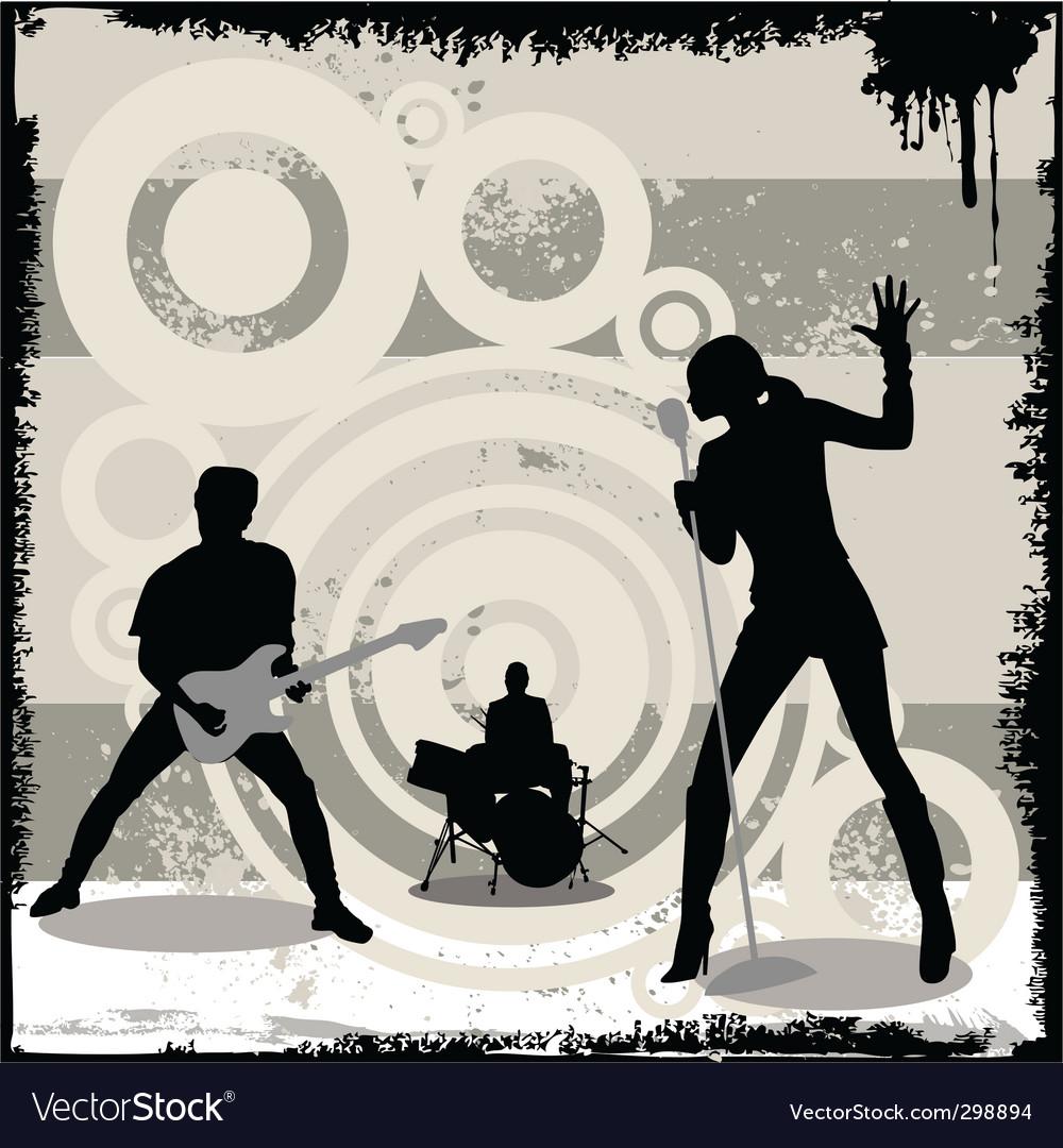 Grunge concert vector | Price: 1 Credit (USD $1)