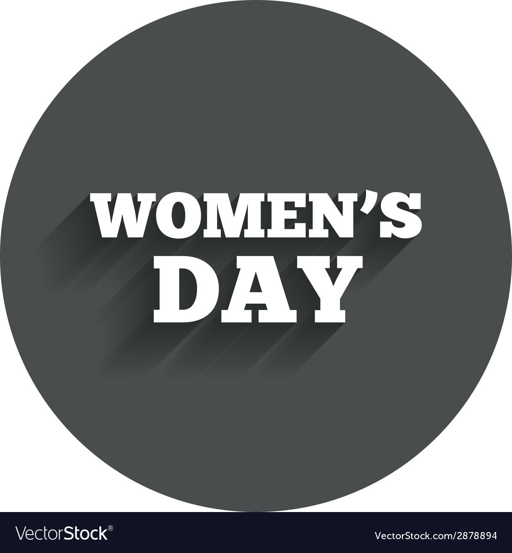 Womens day sign icon holiday symbol vector | Price: 1 Credit (USD $1)
