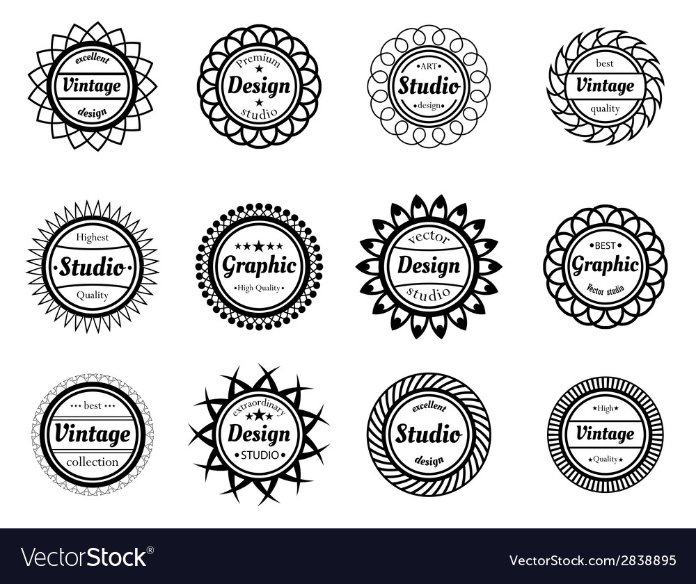 Collection award stamp for design adn graphic vector | Price: 1 Credit (USD $1)
