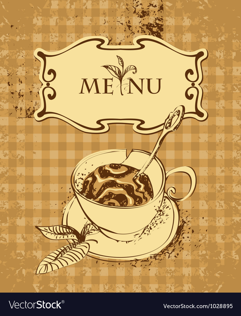 Tea or coffee vector | Price: 1 Credit (USD $1)