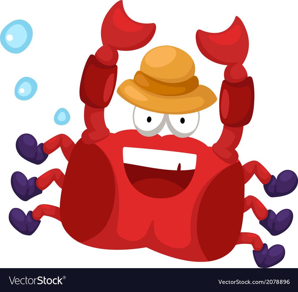 A crab vector | Price: 1 Credit (USD $1)