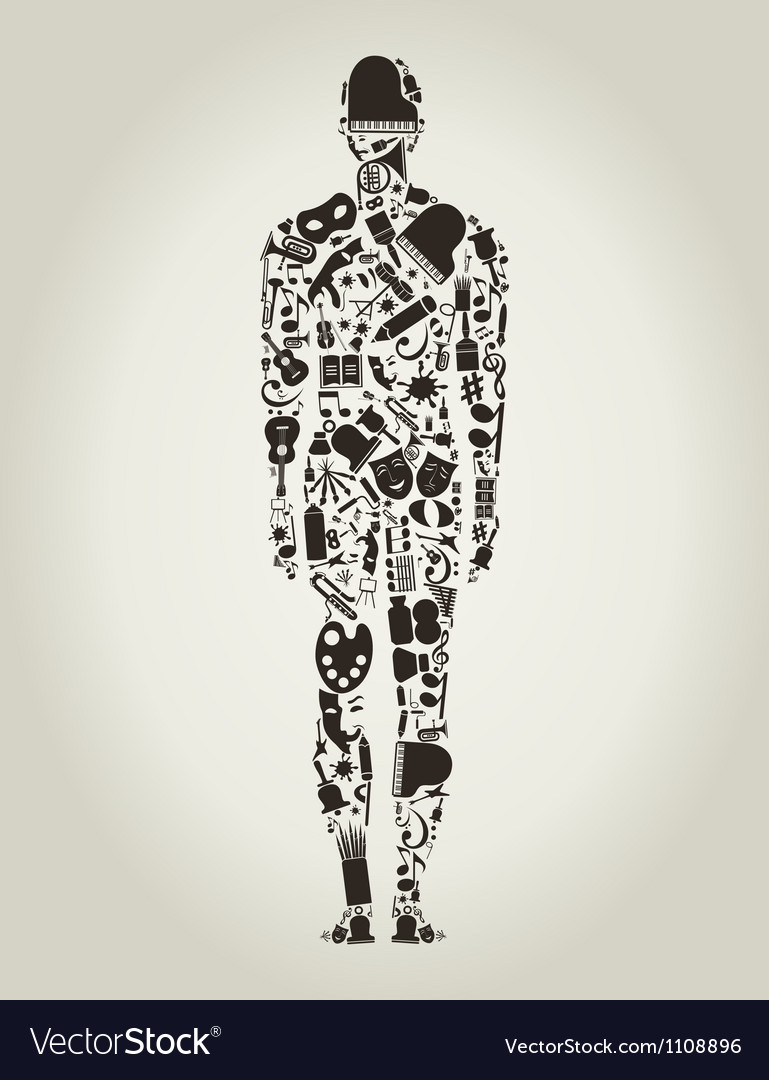 Art the person vector | Price: 1 Credit (USD $1)