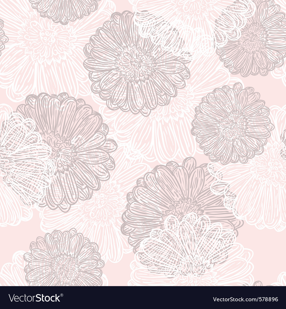 Subtle flowers vector | Price: 1 Credit (USD $1)