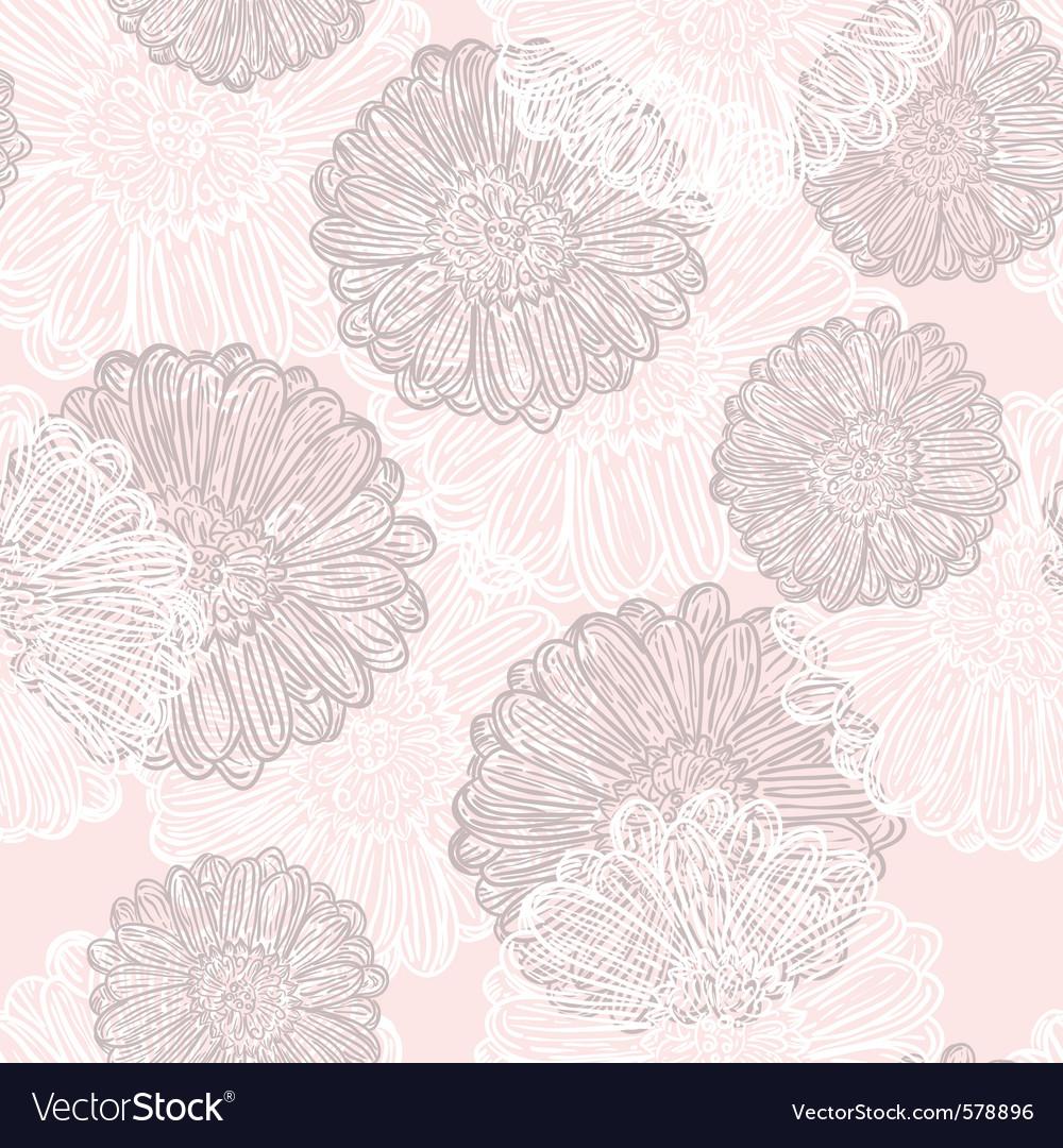 Subtle flowers vector | Price: 1 Credit (USD $1)