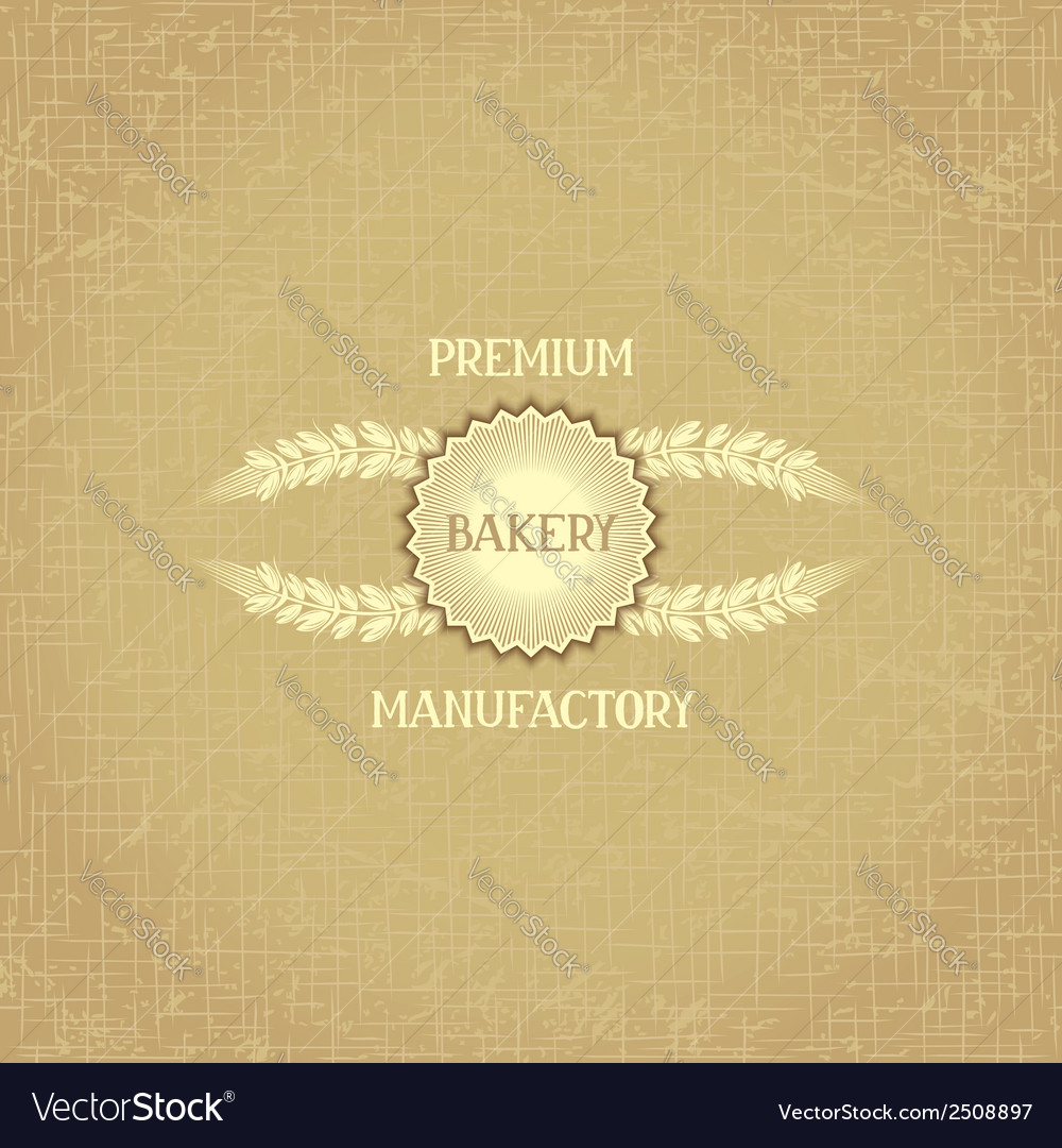Background template for bakery vector | Price: 1 Credit (USD $1)