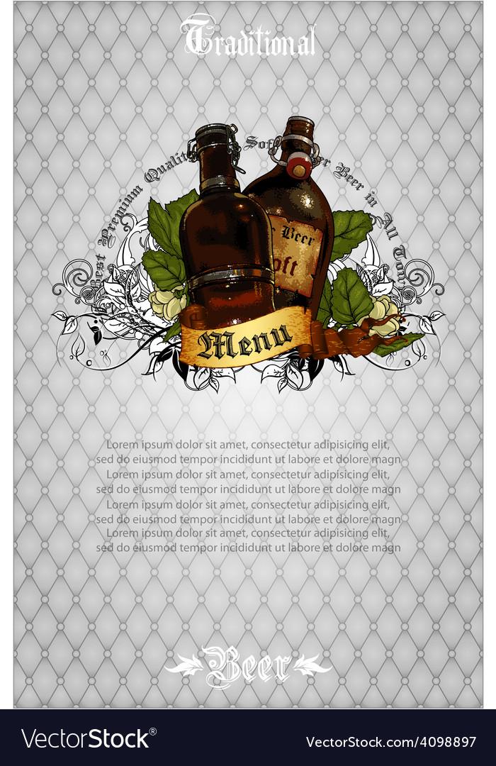 Beer background vector   Price: 3 Credit (USD $3)