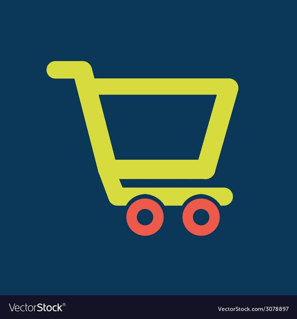 Cart shopping design vector | Price: 1 Credit (USD $1)