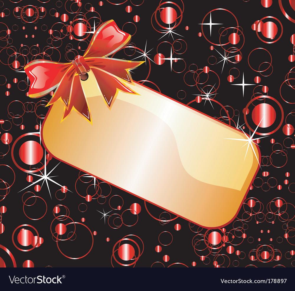 Christmas tag vector   Price: 3 Credit (USD $3)