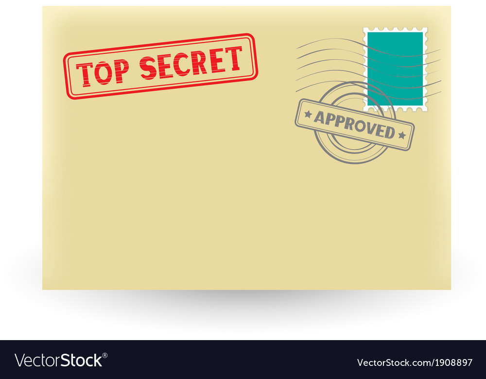 Secret correspondence vector | Price: 1 Credit (USD $1)