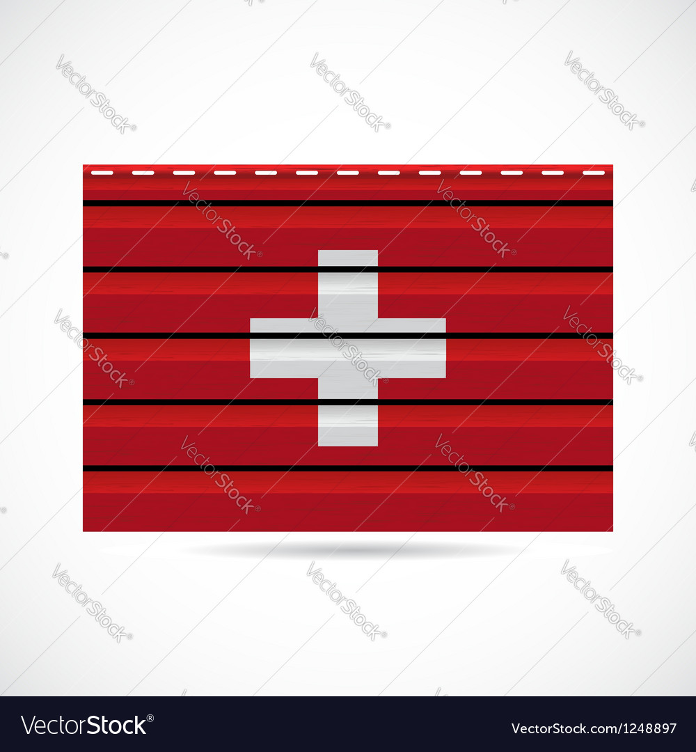 Switzerland siding produce company icon vector | Price: 1 Credit (USD $1)