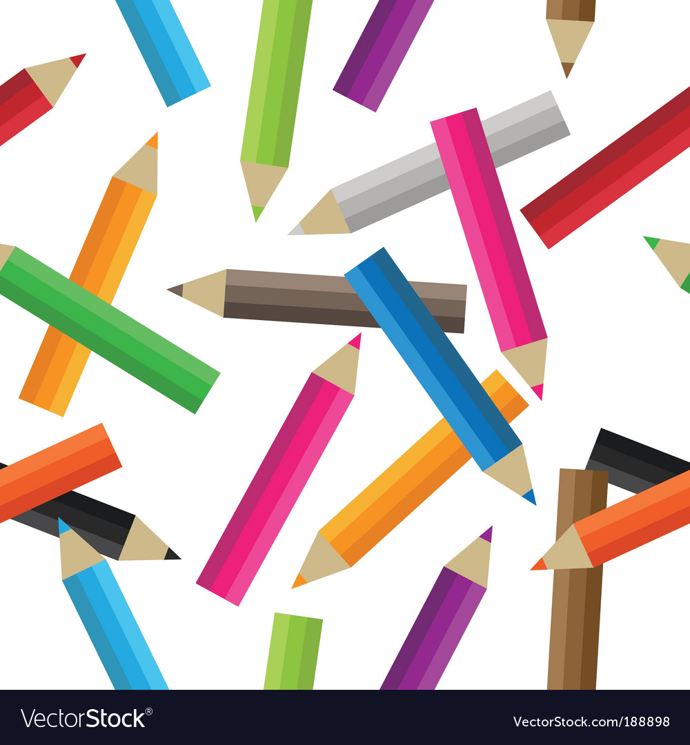 Seamless pencils vector | Price: 1 Credit (USD $1)