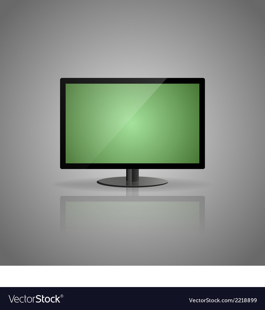 Green display vector | Price: 1 Credit (USD $1)