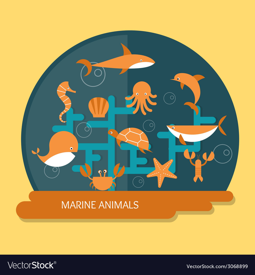 Ocean conservation vector | Price: 1 Credit (USD $1)