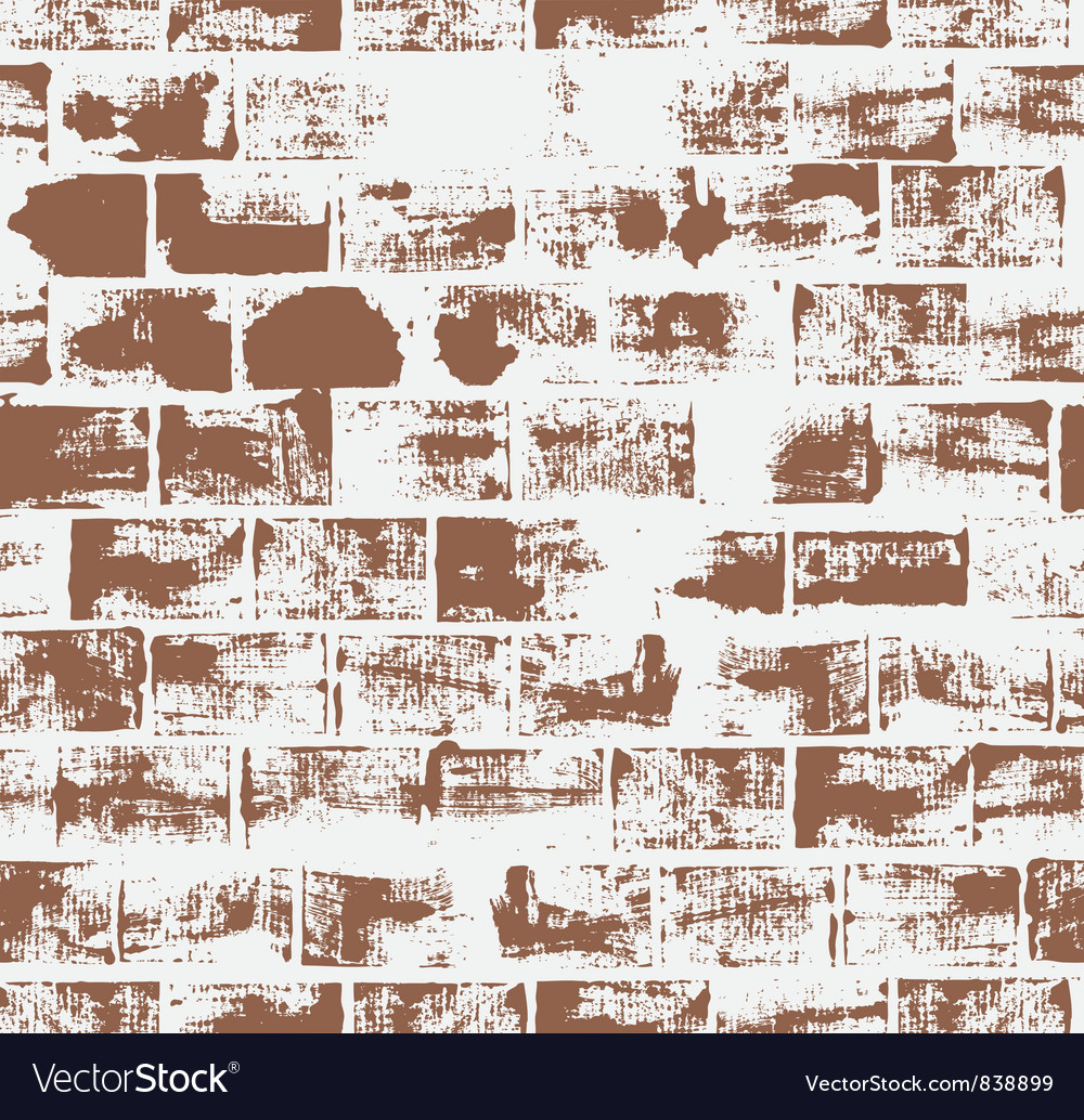 Seamless pattern with brick wall vector | Price: 1 Credit (USD $1)