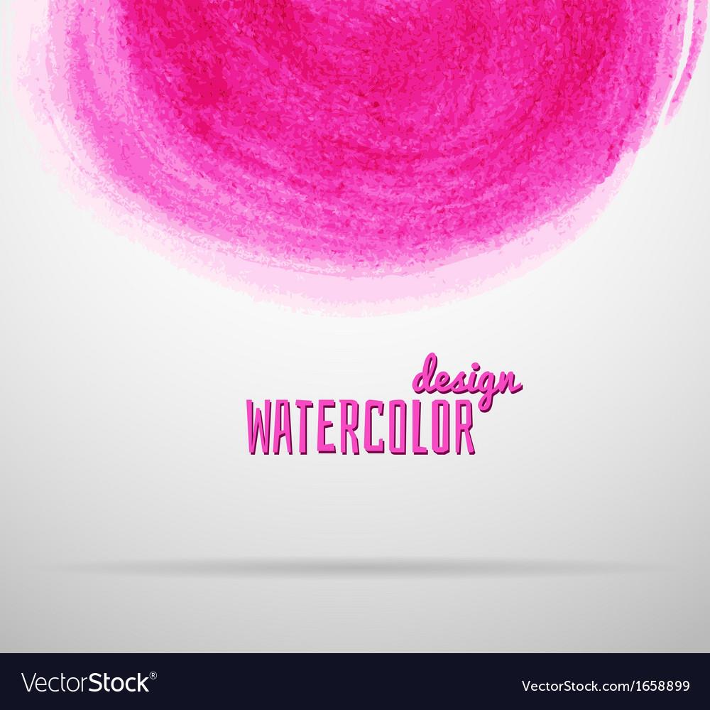 Watercolor design vector   Price: 1 Credit (USD $1)