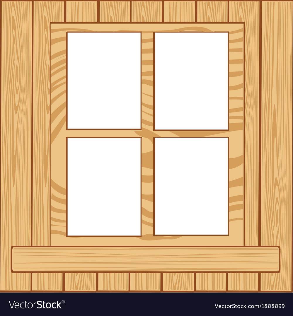 Window from tree vector | Price: 1 Credit (USD $1)