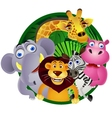 Animal group vector