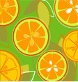 Orange fresh taste eps vector