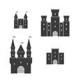 Castle set vector