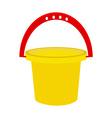 Baby bucket vector