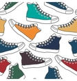 Colored gumshoes vector
