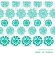 Abstract green decorative circles stars striped vector