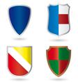 Set of heraldry vector