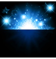 Bright night background vector