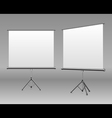 White board empty space vector