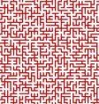 Maze pattern vector