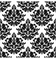 Retro damask seamless pattern vector