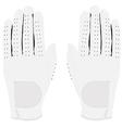 White gloves pair vector