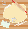 Cookie party invitation vector