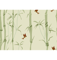 Seamless beautiful bamboo background vector