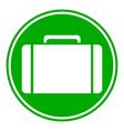 Portfolio symbol button vector