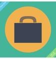 Briefcase icon -  flat design vector