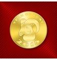 Goat coin vector