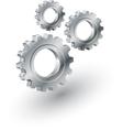 Gears sign vector