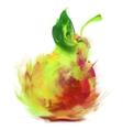 Drawing pear vector