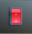 Red switch vector