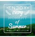 Blurred summer landscape background with vector