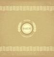 Design for bakery vector