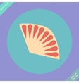 Fan icon isolated -  flat vector
