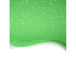 Abstract green particle folder template vector
