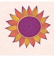 Stylized sun vector