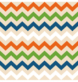 Colorful retro wave seamless pattern vector