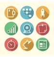 Icons for freelance and business vector