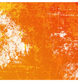 Orange grunge background vector